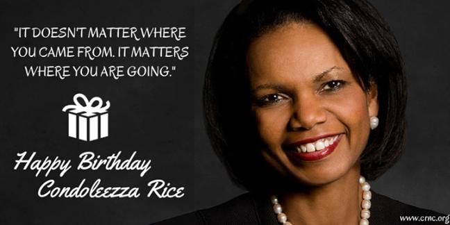 Condoleezz Rice