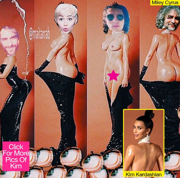 Miley Cyrus Dis of Kim Kardashian