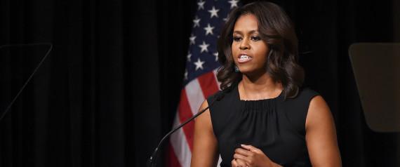Michelle Obama Wants Women Veterans To 'Show Off A Little Bit'